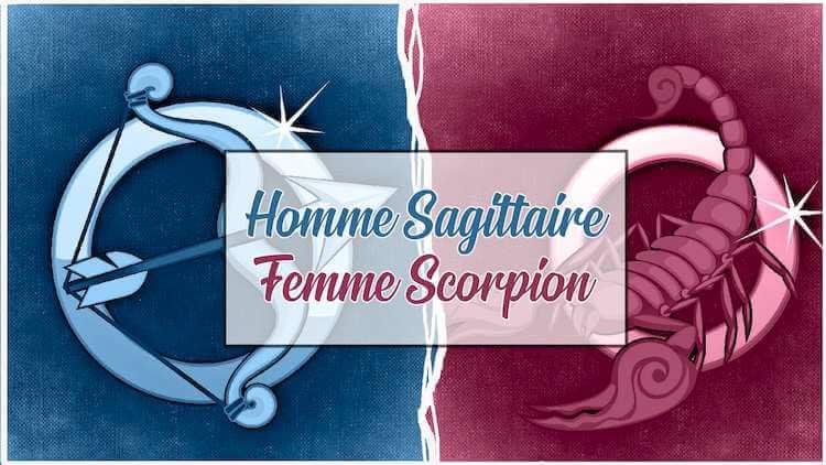 Homme sagittaire et femme scorpion sont-ils compatibles ?