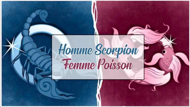 Homme scorpion et femme poisson