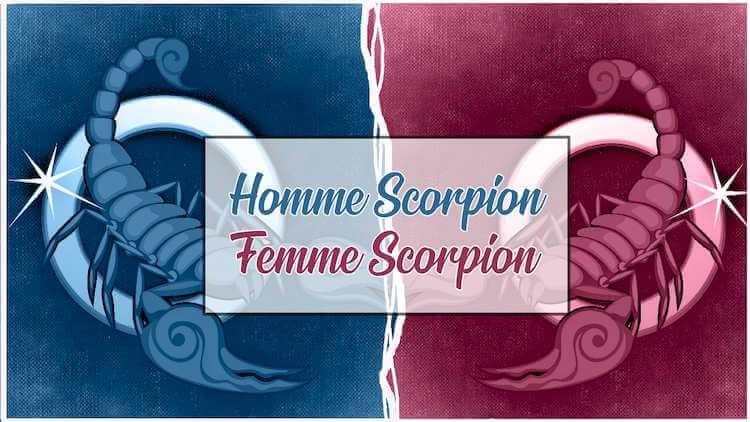 Homme scorpion femme scorpion
