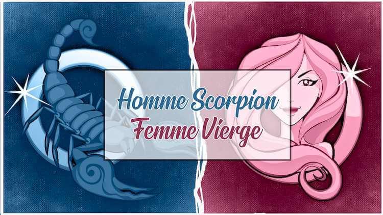 Homme scorpion femme vierge