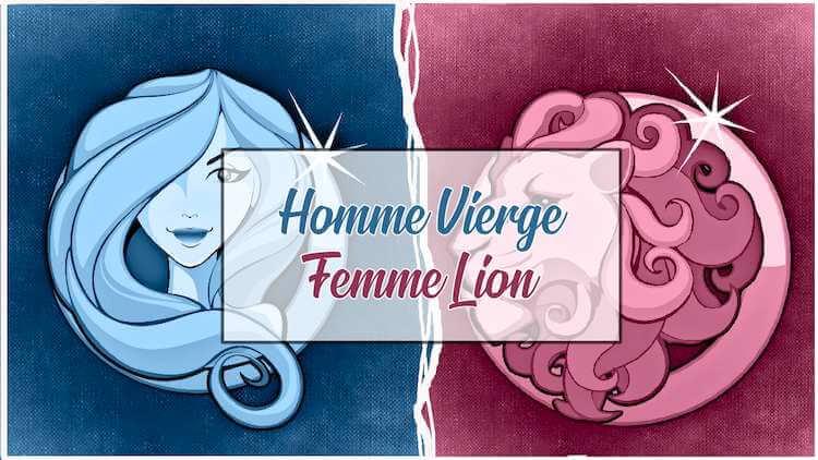 Homme vierge et femme lion